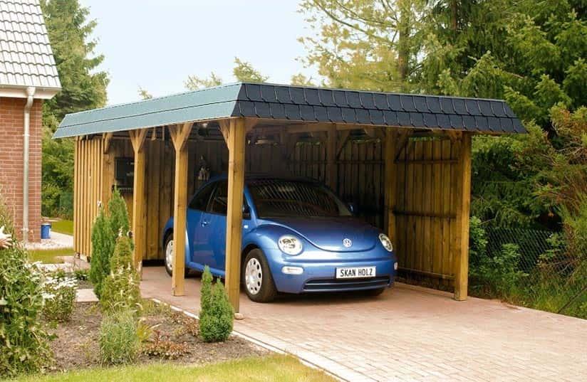 Quel type de carport pour voiture installer dans son jardin ?